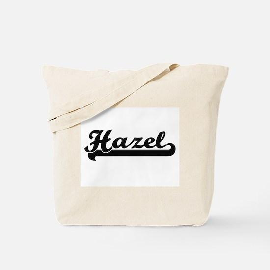 Hazel Classic Retro Name Design Tote Bag