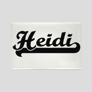Heidi Classic Retro Name Design Magnets