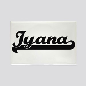 Iyana Classic Retro Name Design Magnets