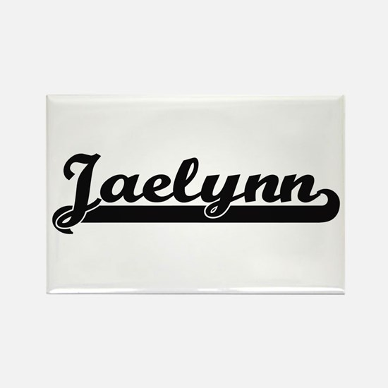 Jaelynn Classic Retro Name Design Magnets