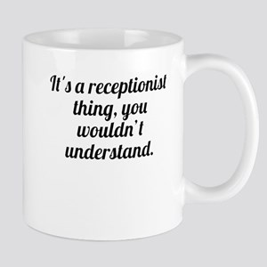 Its A Receptionist Thing Mugs