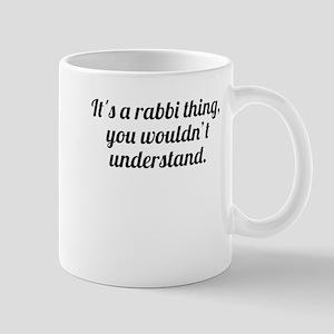 Its A Rabbi Thing Mugs