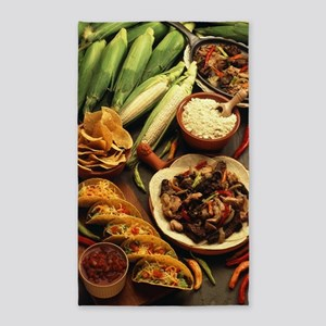 Mexican Food Area Rug