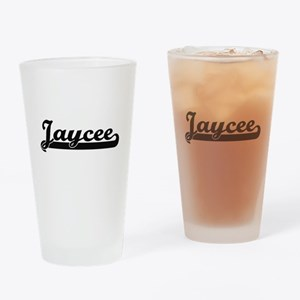 Jaycee Classic Retro Name Design Drinking Glass