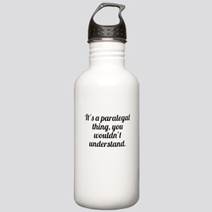 Its A Paralegal Thing Water Bottle