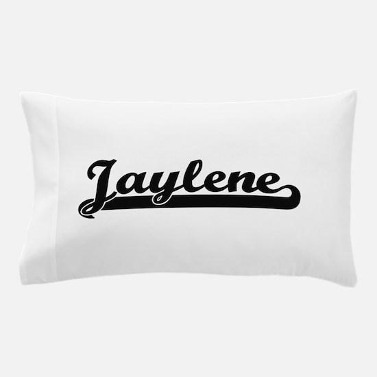 Jaylene Classic Retro Name Design Pillow Case