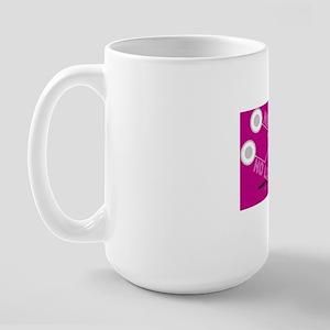 NO MUSIC, NO LIFE. Large Mug