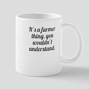 Its A Farmer Thing Mugs