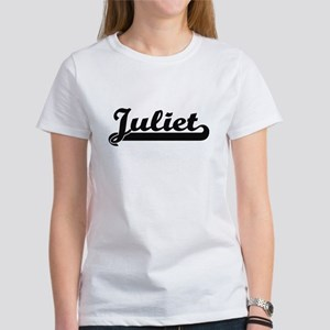 Juliet Classic Retro Name Design T-Shirt