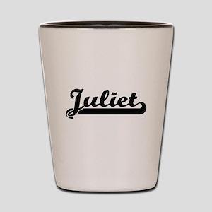 Juliet Classic Retro Name Design Shot Glass