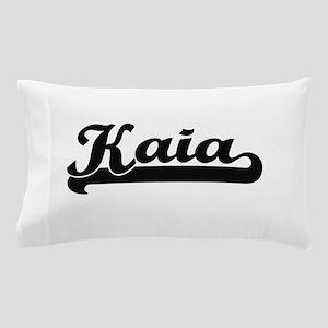 Kaia Classic Retro Name Design Pillow Case