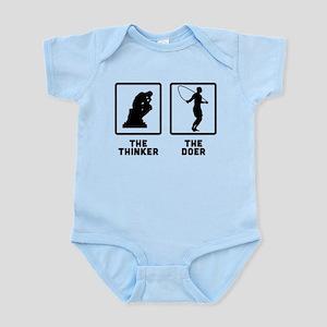 Rope Skipping Infant Bodysuit
