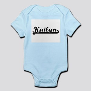 Kailyn Classic Retro Name Design Body Suit