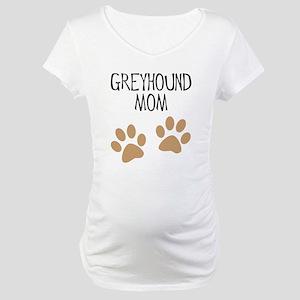 Greyhound Mom Maternity T-Shirt
