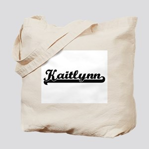 Kaitlynn Classic Retro Name Design Tote Bag
