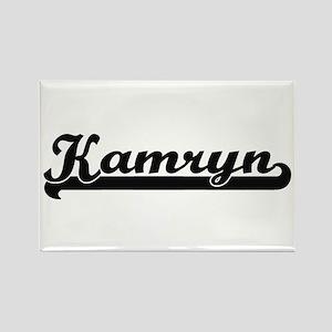 Kamryn Classic Retro Name Design Magnets