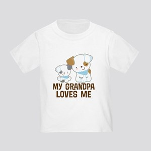 My Grandpa Loves Me Toddler T-Shirt