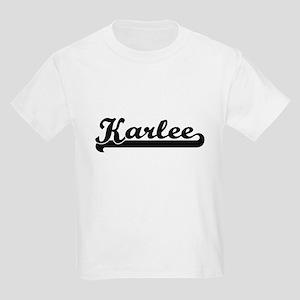 Karlee Classic Retro Name Design T-Shirt