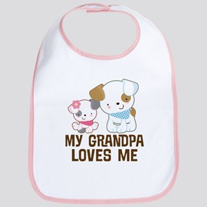 My Grandpa Loves Me Bib