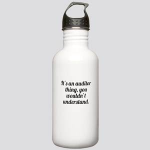 Its An Auditor Thing Water Bottle