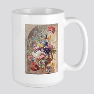 Flower Still Life by Jan van Huysum Mugs