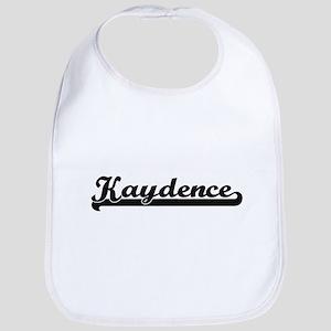 Kaydence Classic Retro Name Design Bib
