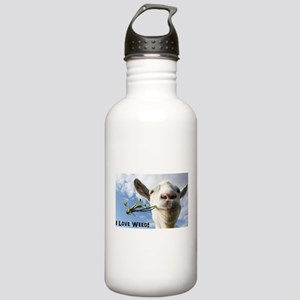 Weed Goat Stainless Water Bottle 1.0L