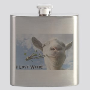 Weed Goat Flask