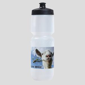 Weed Goat Sports Bottle
