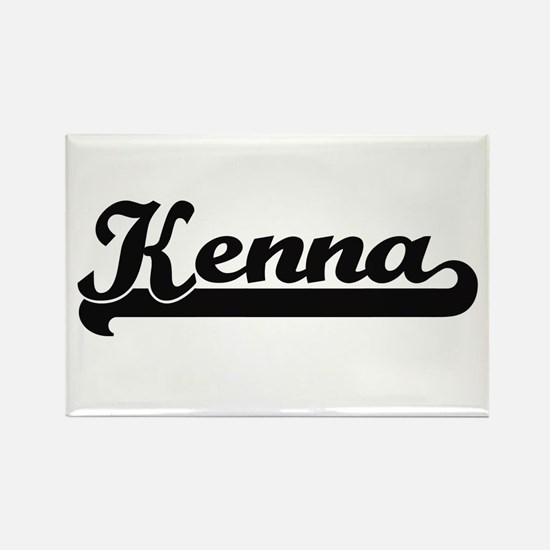 Kenna Classic Retro Name Design Magnets