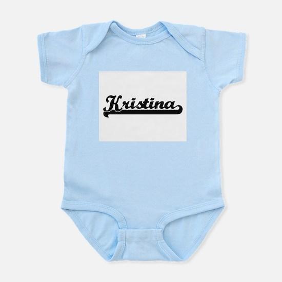 Kristina Classic Retro Name Design Body Suit