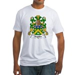 Teyssier Family Crest  Fitted T-Shirt