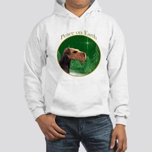 Airedale Peace Hooded Sweatshirt