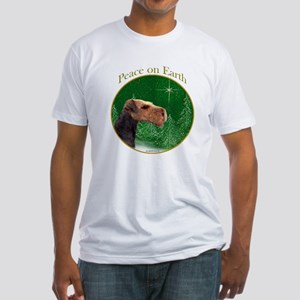 Airedale Peace Fitted T-Shirt
