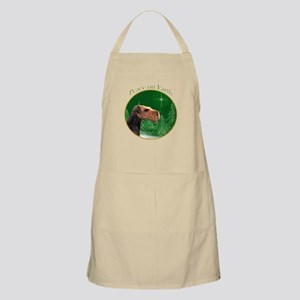 Airedale Peace BBQ Apron