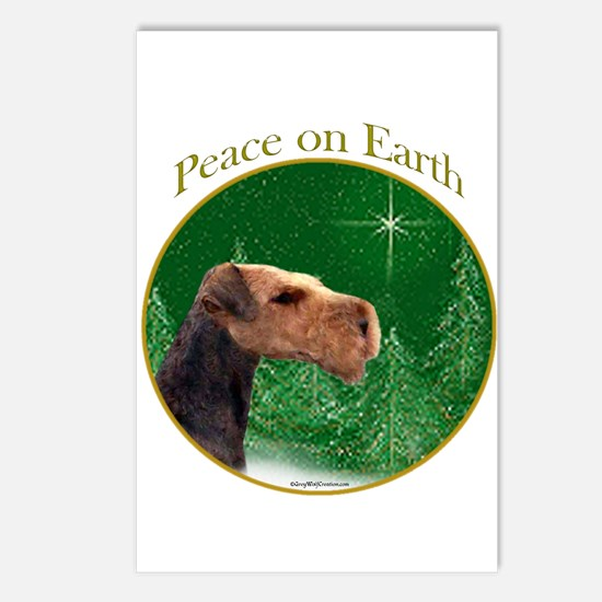 Airedale Peace Postcards (Package of 8)