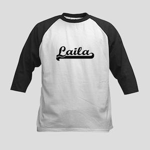 Laila Classic Retro Name Design Baseball Jersey