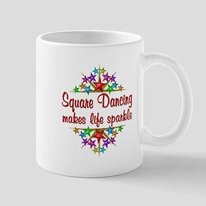 Square Dancing Sparkles Mug