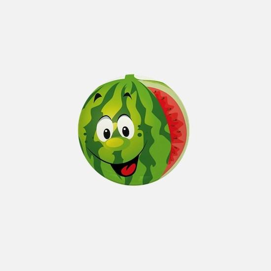 Watermelon Mini Button