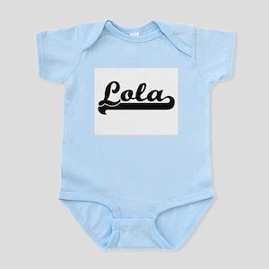Lola Classic Retro Name Design Body Suit