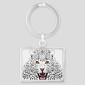 Fierce Leopard Keychains