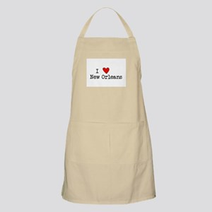 I Love New Orleans Apron