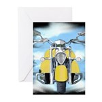 Baby Bikers Greeting Cards (Pk of 10)
