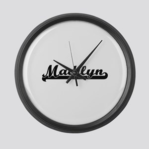 Madilyn Classic Retro Name Design Large Wall Clock