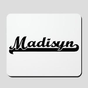 Madisyn Classic Retro Name Design Mousepad