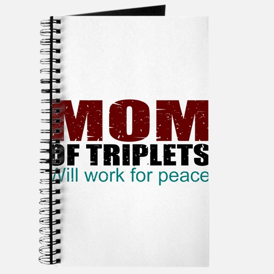 Triplets mom of peace Journal