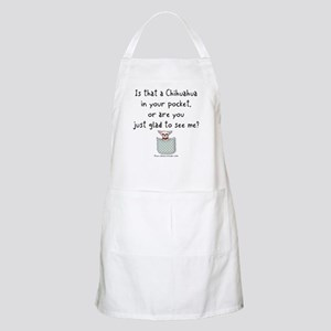 Chihuahua in your Pocket BBQ Apron