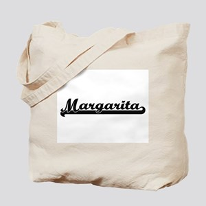 Margarita Classic Retro Name Design Tote Bag