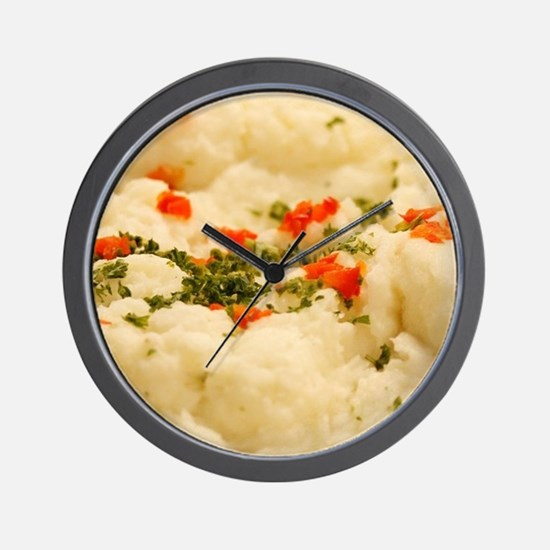 Mashed Potatoes Wall Clock