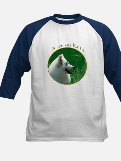 Eskimo Dog Peace Kids Baseball Jersey